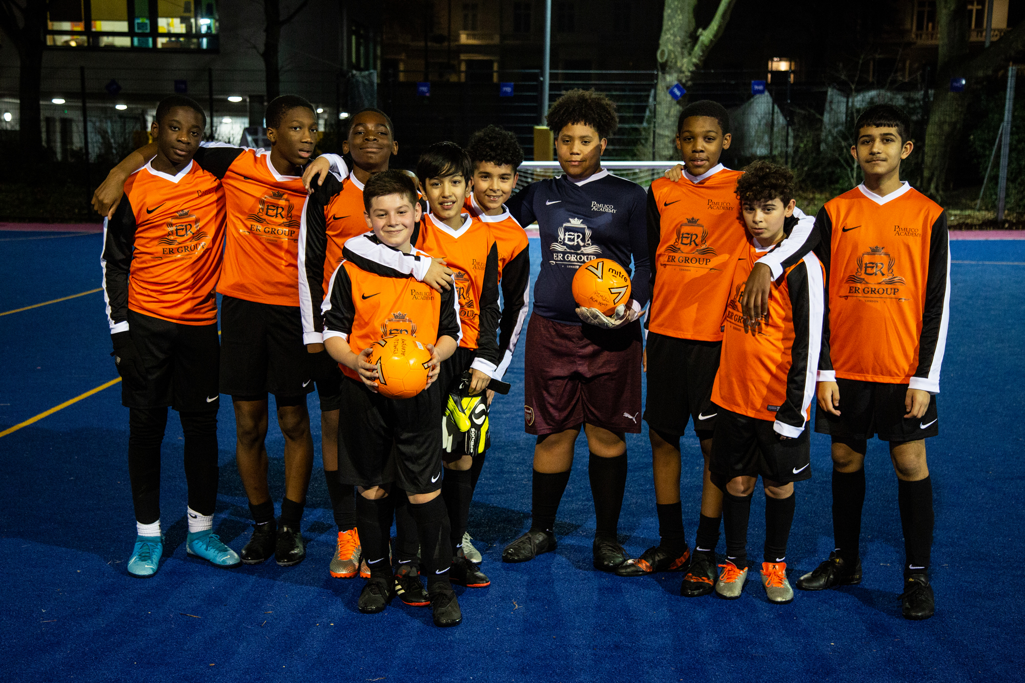 ER Group Sponsors Pimlico Academy Football Team